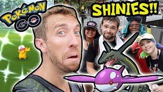 FINAL SHINY CATCHES IN JAPAN! (Pokémon GO!)