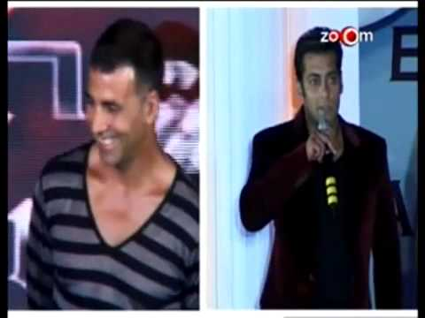 Akshay Kumar IMITATES Salman Khan Music Videos