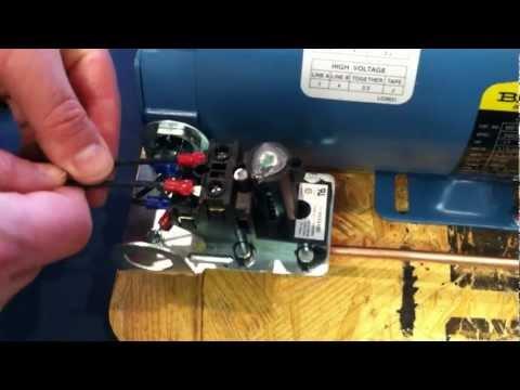 Proper Installation Wiring Procedure: Wiring to the Air Compressor's Pressure Switch