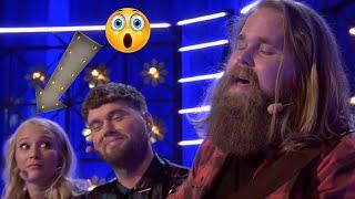 Swedish Idol winner Chris Kläfford surprises everyone with his powerful voice. Goosebumps from 0:55
