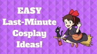EASY last-Minute DIY Cosplay Costumes | HAPPY HALLOWEEN!