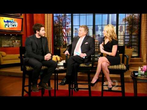 Jake Gyllenhaal on Regis & Kelly (11/18/10) - HD