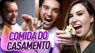 A COMIDA DO CASAMENTO + DEGUSTANDO OS BUFFETS - Diário da Noiva 5