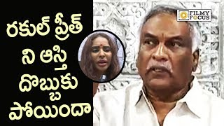 Tammareddy Bharadwaj Fires on Sri Reddy for Abusing Rakul Preet and Pawan Kalyan