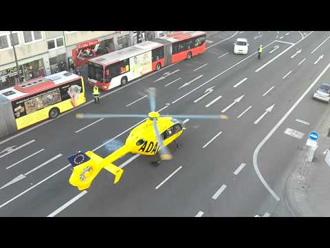 ADAC Helikopter in Aachen