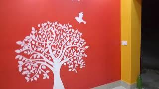 Tree stencil ujjal