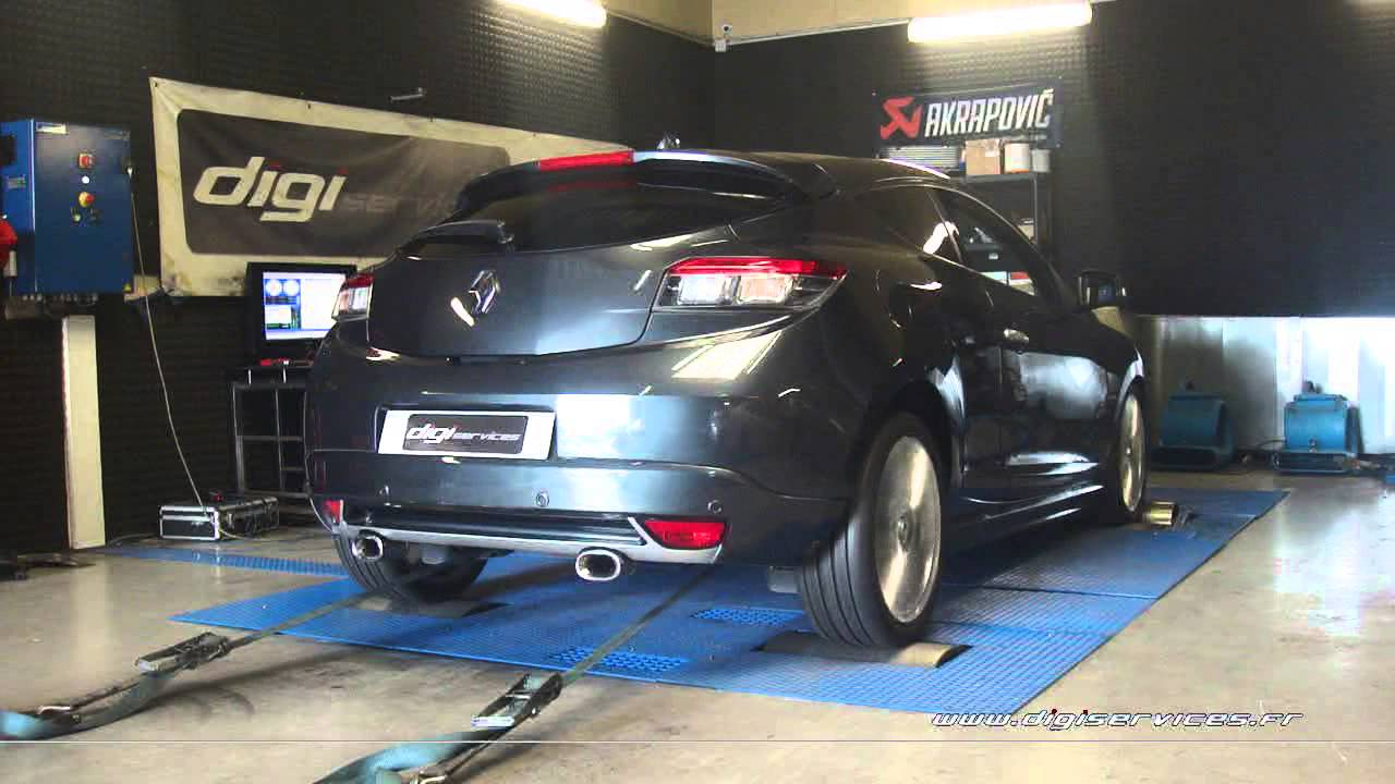 renault megane 3 dci 130cv reprogrammation moteur 167cv digiservices paris 77 dyno youtube. Black Bedroom Furniture Sets. Home Design Ideas