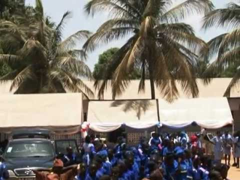 Gambia Girl Guides Association Thinking Day 2012 Celebrations