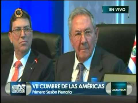 Raúl Castro Cumbre de las Américas