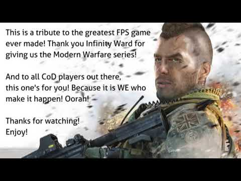 COD Modern Warfare: Soap MacTavish - A Tribute