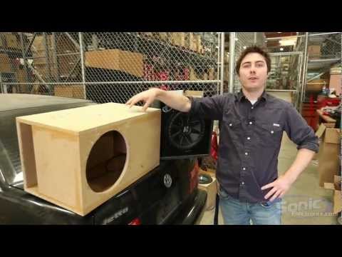 Comparing Subwoofer Boxes: Custom & Manufacturer  Enclosures