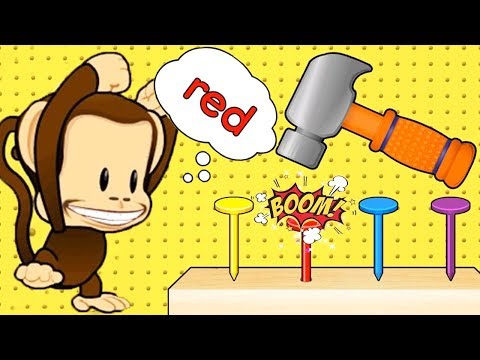 Baby Learn Colors Kids Games | Play & Learn Puzzle , Colors With Monkey | Educational Learning Video
