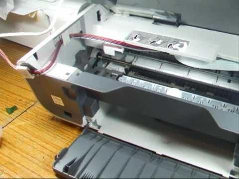 How to install a CISS on to a Canon MP150