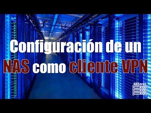 Configuración de un NAS como cliente VPN