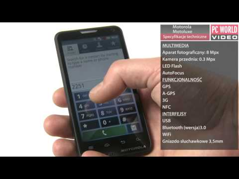 Motorola Motoluxe - test PC World