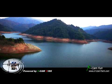 The Impression of Wuyuan Jiangxi China Aerial Filming II By X-Cam Tech