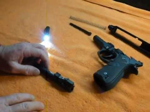 Disassembly and reassembly of Beretta 92FS and M9