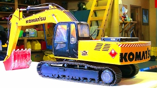 RC ADVENTURES - How it Works / Hydraulic Help / Air Bleeding - RC4WD Excavator: Earth Digger - Tech