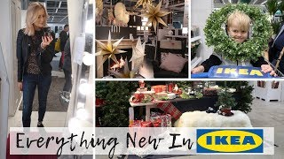 Come Shopping With Me To IKEA Vlog | Everything New in IKEA (Christmas!)