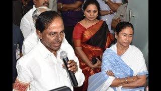 Telangana CM Chandrashekhar Rao Meets Mamata Banerjee In Kolkata | Federal Front | ABN