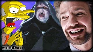 Star Wars Battlefront 2 - Funny Gameplay Moments (Palpatine's Evil Laugh!)