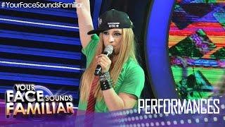 Your Face Sounds Familiar: Kean Cipriano as Avril Lavigne -