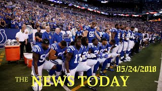 Trump Welcomes NFL Decision On National Anthem Protests   News Today   05/24/2018   Donald Trump