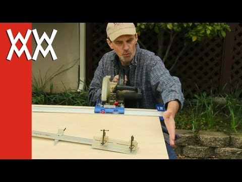Cutting plywood: how to break down sheet goods.