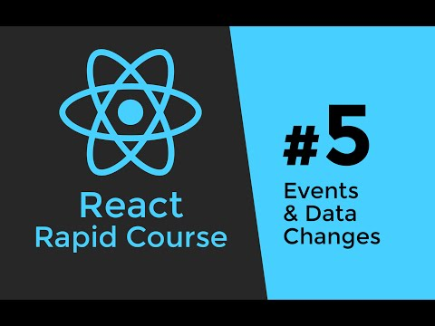 REACT JS TUTORIAL #5 - Javascript Events & Data Changes in React