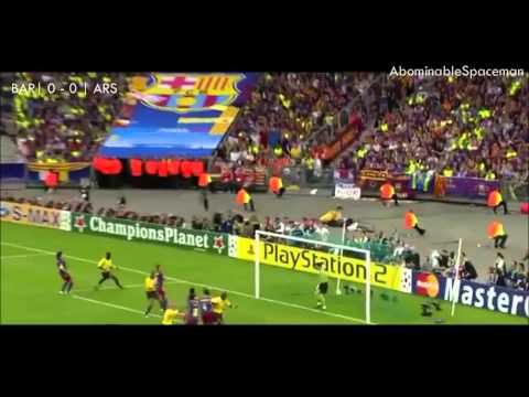 Sol Campbell's Goal | UCL Final 2006 vs Barca
