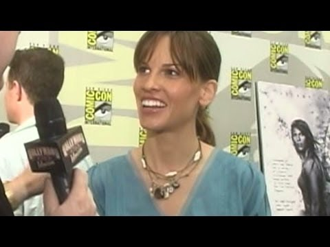 'The Reaping' Hilary Swank Interview