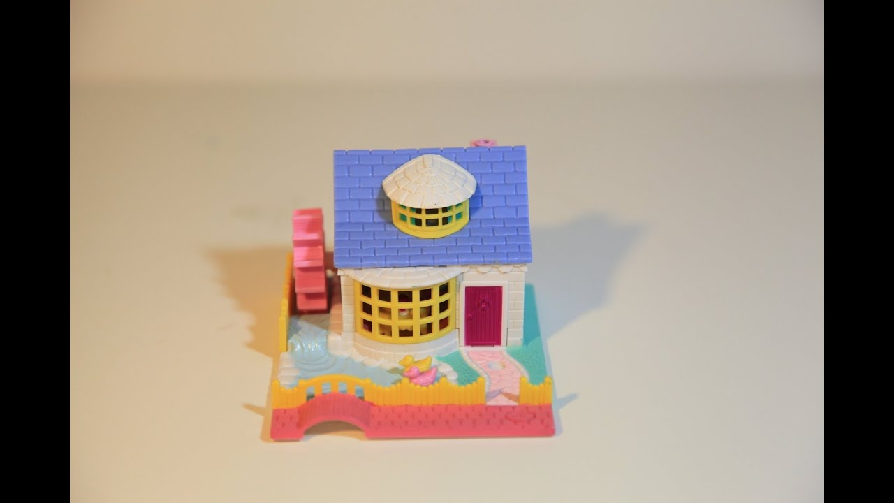 Toys For Grandparents House : Polly pocket mattel granny grandma s house cottage