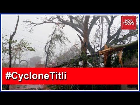 #CycloneTitli Updates: Andhra CM Chandrababu Naidu To Visit Affected Areas Soon