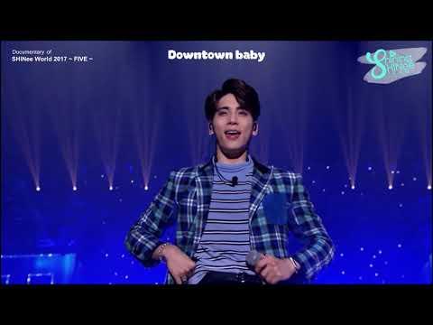 [Vietsub] SHINee - Downtown Baby (Unplugged | Documentary Of SHINee World 2017 ~ FIVE ~)