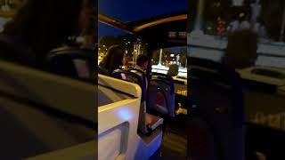 EN MADRID EN EL AUTOCAR TURISTICO