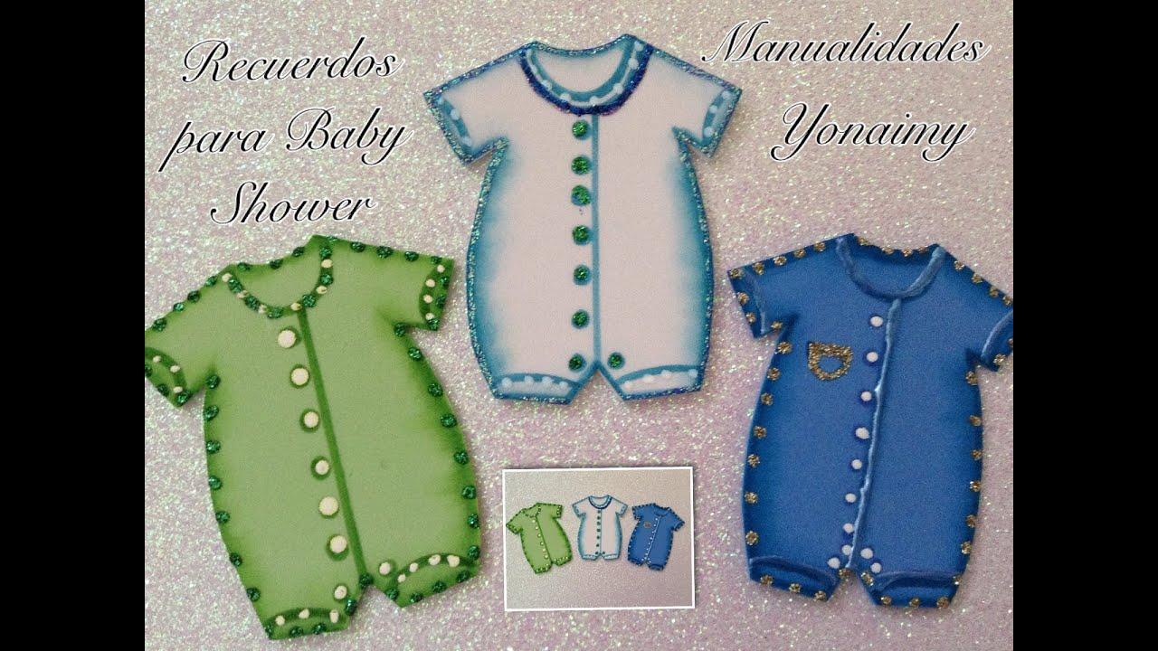 Mameluco Para Baby Shower De Nino