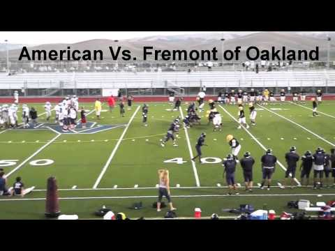 CRAZY FOOTBALL FIGHT (American High School)