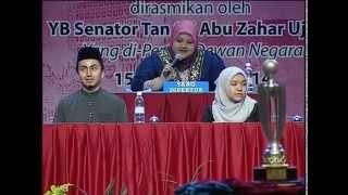 DEBAT KEMERDEKAAN ALA PARLIMEN IPT, 15 Sept. 2014. (peringkat akhir UM vs UIAM)