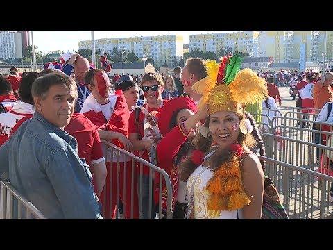 В Саранске прошел первый матч чемпионата мира по футболу