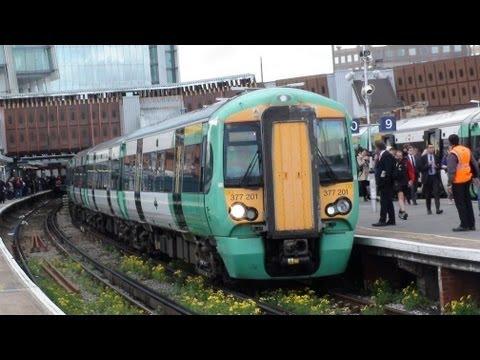 377201 + 377326 + 377301 *10 Coach Electrostar* Departs London Bridge For West Croydon