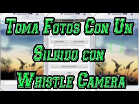 Toma Fotografías con un Silbido con  Whistle Camera [Aplicación para Android] por MiSoTa94