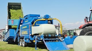 GÖWEIL LT - MASTER + Same Iron 220 | Baling and Wrapping Silage