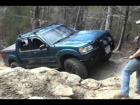 Patrick S 01 Sport Trac On Mutiny Ridge Youtube