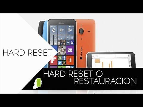 Microsoft Lumia  HARD RESET  ( Formateo ) PARA TODOS 520. 535. 630. 640. 640 XL. 720. 730. 830. 530.