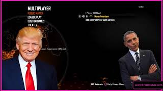 Donald Trump Plays Call of Duty!