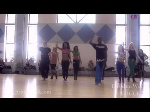 Project818/Dashaun Wesley /MASTER CLASSES IN MOSCOW / FEMM VOGUE