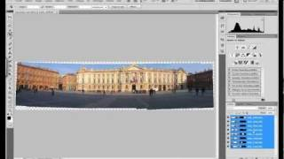 TUTO: faire un beau panoramique sans déformartion avec photoshop cs5