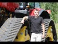 Трактор БЕЛАРУС 3525 со сменной системой гусеничного хода: тест АВТОПАНОРАМА|ap.by