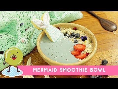 Resep Mermaid Smoothie Bowl