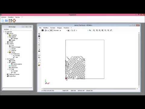 Importazione da un file in formato sfondo dwg/dxf